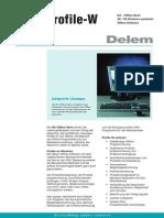 Leaflet Delem Profile-W DU