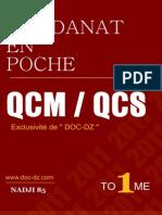 Residanat en Poche - 2011-Tome i - Qcm - Qcs - Exclusivité