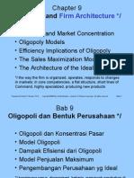 Ch 9 Oligopoly Ing-Indo