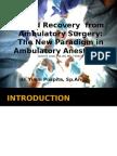 Rapid Recovery  from Ambulatory Surgery.pptx