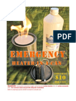 Emergency Can Heater