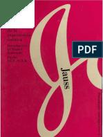 Jauss Pequena Apologia de La Experiencia Estetica PDF