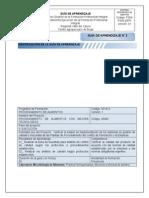 PA Guía de aprendizaje Laboratorio 2 Diluciones y medios de cultivo