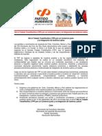Declaración Contra Tratado TransPacífico - 1 de Agosto de 2015