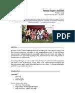 Annual Report in Brief