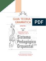 Guia Teoria y Gramatica 1 Sem