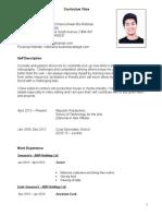 Khairul's CV