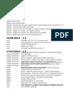 KoW - RC Additional Lists 1.4.1
