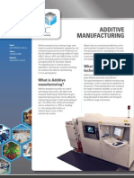 Additive Manufacturing Factsheet