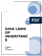 Shia Laws of Inheritance
