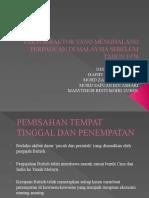 Faktor-faktor Yang Menghalang Perpaduan Di Malaysia Sebelum Tahun