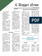 Pilcrow and Dagger Sunday News 8-2-2015