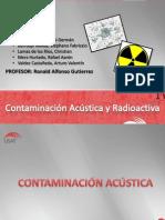 Contaminación Acústica y Radioactiva PDF