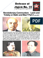 In Defence of Trotskyisn No.15