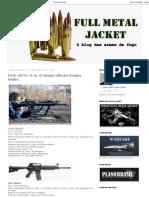 Full Metal Jacket_ FUZIL AR-15_ M-16. O Clássico Rifle Dos Estados Unidos