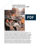 Reform and Counterreform in the Bureaucratic Bloc Czechoslovakia 1968