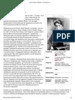 Emma Goldman – Wikipédia, A Enciclopédia Livre