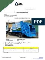 Cotizacion de Camion Compactadora de 15m3-Mitsubishi-Año 2014 (1)