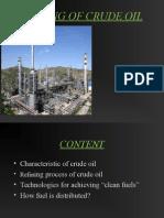 Refining Crude Oil