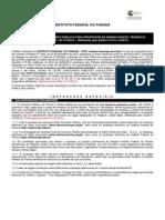 EDITAL IFPR 2015