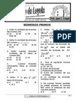 (Ord) Números Primos