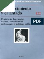 estado y ciencias sociales