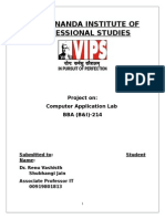 lab Practical file bba