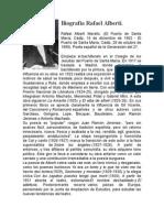 Biografía Rafael Alberti