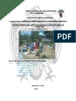 Informe Semestral de Hidraulica