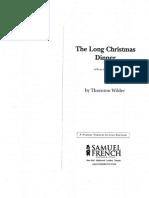 Long Christmas Dinner Script