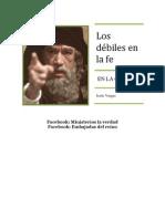 Los Debiles en La Fe
