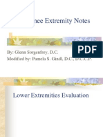 HIp & Knee Extremity Notes Sorgenfrey Gindl 7.16.10