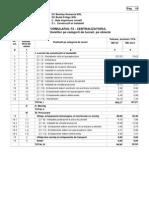 F2 Centralizator Cheltuieli -Constructii Si Instalatii