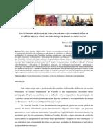 O CONSELHO DE ESCOLA COMO PARCEIRO NA COMPREENSÃO DE PARÂMETROS E INDICADORES DE QUALIDADE NA EDUCAÇÃO