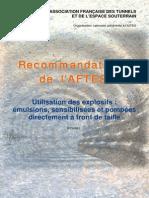 GT3R6F1-Utilisation Des Explosifs