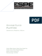 Google Cloud Plata Form
