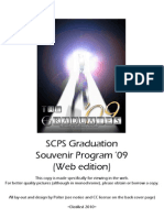 SCPS Graduation Souvenir Program '09 (Web Edition)