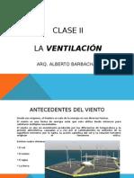 Ventilacion en la Arquitectura ll