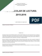 Plan de Lectura 2015