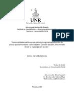 Potencialidades del lenguaje radiofónico para la producción de piezas que comuniquen contenidos de Ciencias Sociales. Una mirada desde la investigación-acción.