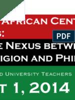 Excursions in African Diaspora Spirituality & Aesthetics