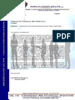 Modelo de Carta de Presentacion Empresa