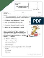 EvaluaciónPlan Lector Camilon Comilon