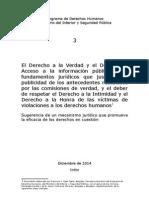 Informe del PDH para desclasificar Valech
