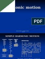Ppt Harmonic Motion