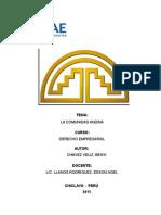 """Investigación de LA CAM - """"Comunidad Andina de Naciones"""""""