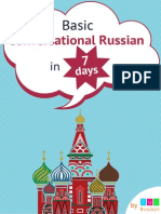 Basic Conversational Russian in 7 Days