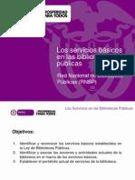 Los Servicios Basicos en Las Bibliotecas Publicas