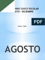 CALENDIARIO CIVICO ESCOLAR