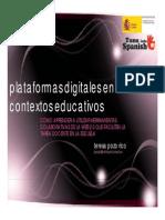Teresa Pozo - Ponencia Plataformas Digitales
